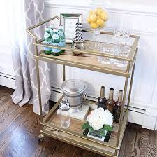 Bar Accessories And Decor Target Bar Cart Styled With Homegoods Accessories Apartment 45