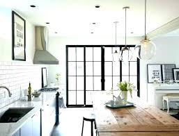 how high should pendant lights hang above kitchen island lantern light large size of bla