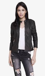 double peplum minus the leather jacket express