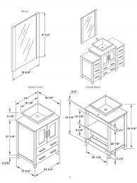 Standard Bathroom Vanity Top Sizes 79 Top Kitchen Sink Base Cabinet Sizes Home Design Measurements