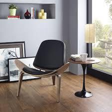 Hans Wegner Vinyl Shell Chair Replica Emfurn
