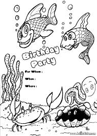 Small Picture BIRTHDAY INVITATIONS coloring pages Coloring pages Printable