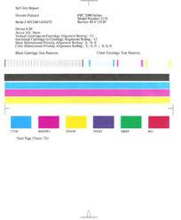 Hp Color Laserjet 3600 Printer Test Page L L L L L L L L