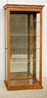 tall curio cabinet. Brilliant Tall Tall Curio Cabinet To De Vries Woodcrafters