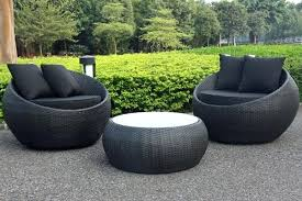 black patio furniture covers. Black Patio Furniture Cocoon Swivel 3 Piece Outdoor Balcony Setting Small Urban Covers E