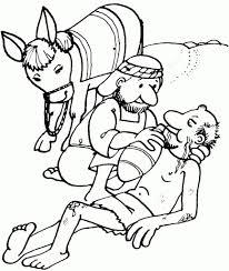Small Picture Good Samaritan Coloring Page Inside The itgodme
