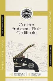 Three Designing Women Certificate Buy Personalized Custom Embossing Stamp At Handmade In