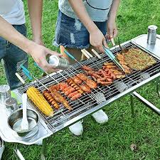 <b>Fold Barbecue</b> Charcoal Grill Stove Stainless Steel Portable <b>Folding</b> ...