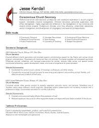 Administrative Secretary Resume Sample Sample Resume Executive