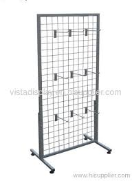Wire Rack Display Stands Wire mesh display rackmetal display stand manufacturer from China 1