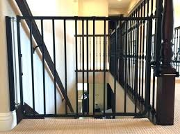 infant gates for stairs baby gates for stairs black top of stair gate wood with spindles baby gate stairs banister kit
