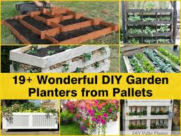 Diy Garden 19 Wonderful Diy Garden Planters From Pallets