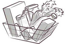 Bildergebnis für einkaufen supermarkt clipart