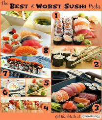 The Healthiest Sushi Rolls Sparkpeople