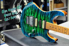 Suhr Custom Modern Green Blue Burst Quilt Top. wildwestguitars.com ... & Suhr Custom Modern Green Blue Burst Quilt Top. wildwestguitars.com Adamdwight.com