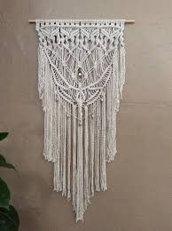Small Picture Macrame Magnificence Giant Macrame Wall Hanging Boho Macrame