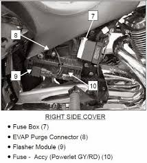 electrical diagram or map victory motorcycles motorcycle forums my service manual shows the fuse for the power outlets bill item 10
