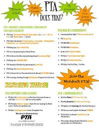 Pta Elections Flyer Pta Does That Flyer Pin Point Out Important And Annual Events And