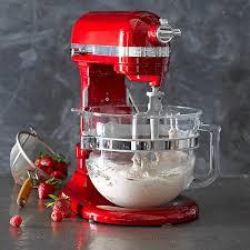 kitchenaid professional 6500 design series stand mixer williams sonoma