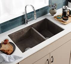 Farmhouse Double Bowl Concrete Kitchen Sink  Native TrailsDeep Bowl Kitchen Sink