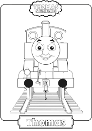 You can download free printable train coloring pages at coloringonly.com. Thomas The Train Coloring Page Free Printable Coloring Pages For Kids