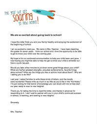 Teachers Introduction Letter To Parents Solidclique40 Enchanting Letter Of Introduction Teacher