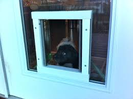 installing a dog door in glass back install french