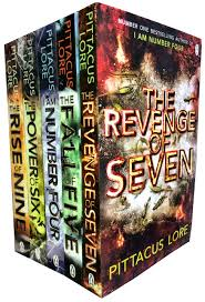 i am number four the power of six the rise of nine the fall of five the revenge of seven pittacus lore 9783200329690 amazon books
