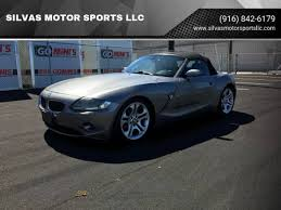 Bmw Z4 For Sale In Sacramento Ca Silvas Motor Sports Llc