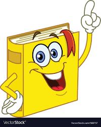 book cartoon vector image
