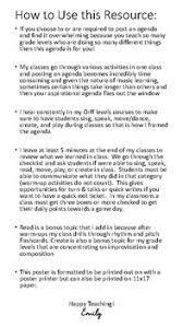 Class Agendas Orff Inspired Classroom Agenda By Emily Blinn Teachers Pay Teachers
