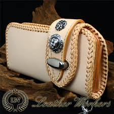 leather wallet double flap riders wallet bikies wallet long wallet men long wallet wallet leather wallet