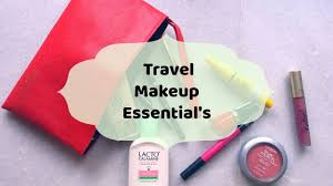 travel makeup kit essentials my travel kit guide check what i have in my travel kit