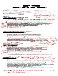 Intern 101 Redlined Resumes Cut It In Half And You Re There