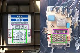 help re wiring fuse box please toyota yaris forums ultimate thats a picture of my on board fuse box and the diagram that cames the car
