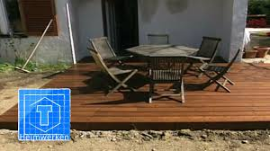 Terrasse Mit Holz — Audiovideoproducer.Com