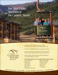 real estate ad ad for the canyons resort real estate erik seo blog