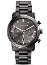 michael kors mens watch gunmetal michael kors mk8371 men s pennant chronograph gunmetal grey black watch