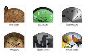 modern large wall clocks kephra
