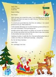 Free Letter From Santa Word Template 10 Best Letters From Santa Images Santa Letter Template