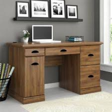 office desk furniture home. contemporary home office computer desk home furniture table laptop workstation black oak wood on