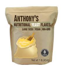 anthony s premium nutritional yeast flakes 1lb verified gluten free
