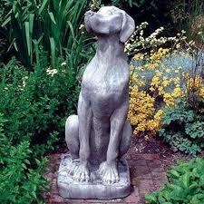 dog garden statue. Beautiful Dog Dog Garden Statue Usage Exterior Decor With Statue D