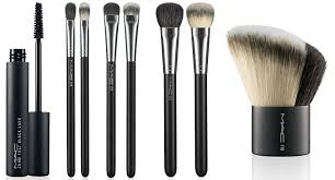 stylelab fashion beauty mac makeup collection semi precious maa brushes