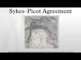 「Sykes-Picot agreement」の画像検索結果