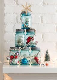 Ideas For Decorating Mason Jars For Christmas diymasonjarchristmastree 88