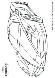 Ferrari Enzo Colouring Pages Coloring Pages Ferrari Enzo Coloring