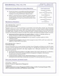 Sourcing Manager Resume 24 New Procurement Manager Resume Format Resume Sample Template 16