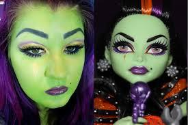 casta fierce monster high makeup tutorial