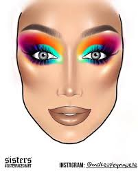 James Face Chart 21 Comprehensive Face Chart James Charles